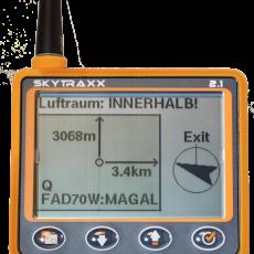 Variometer mit GPS - FLARM - FANET